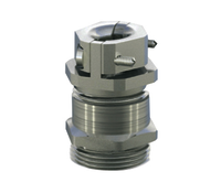 Brass cable gland with centric Strain Relief